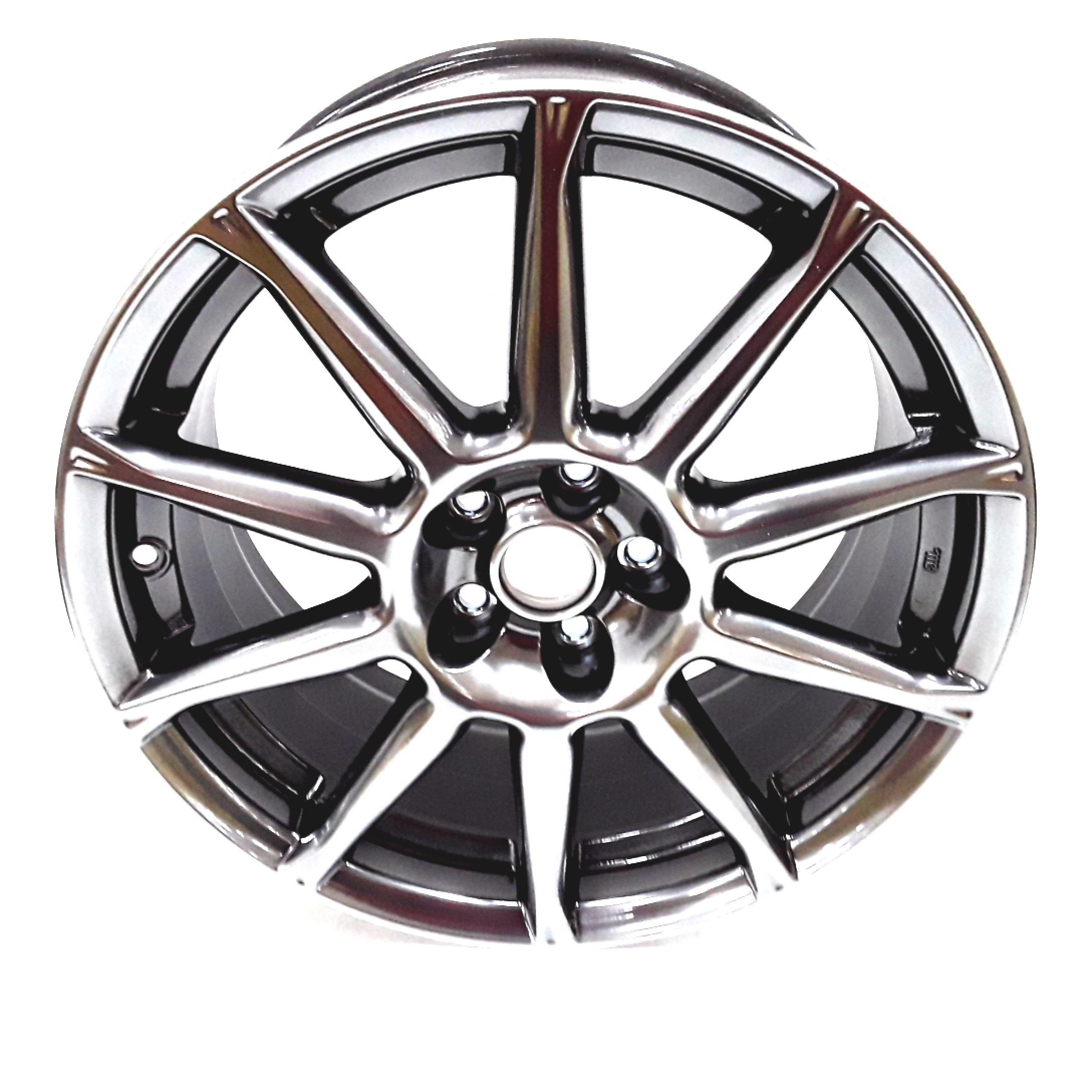 Subaru BRZ Wheel (Disk 17, 17X7.5J OFF48, Black, Aluminum ...