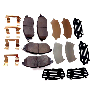 View Disc Brake Pad Set (Front) Full-Sized Product Image