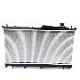 Radiator image for your 2015 Subaru Forester 2.5L CVT Limited w/EyeSight